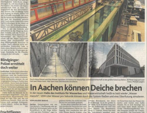 In Aachen können Deiche brechen