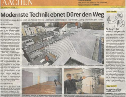 Modernste Technik ebnet Dürer den Weg