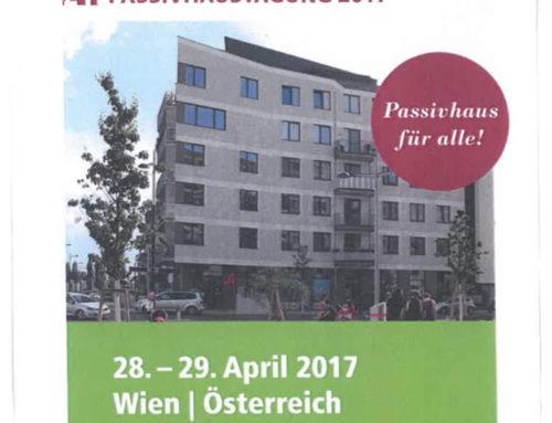 Tagungsband 21. Internationale Passivhaustagung Wien